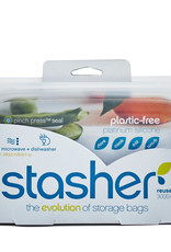 Reusable Silicone Snack Bag - Clear