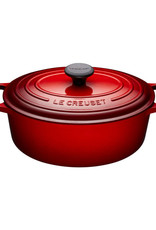 Le Creuset Oval French Oven 3.4L - Cherry Wide / Shallow