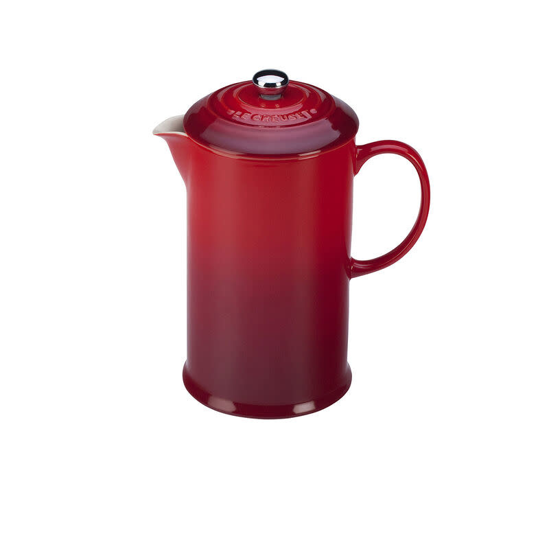 Le Creuset French Press 0.8L / 27oz - Cherry