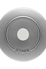 Staub Petite Chistera Rice Cocotte - Grey 1.5L /1.6qt