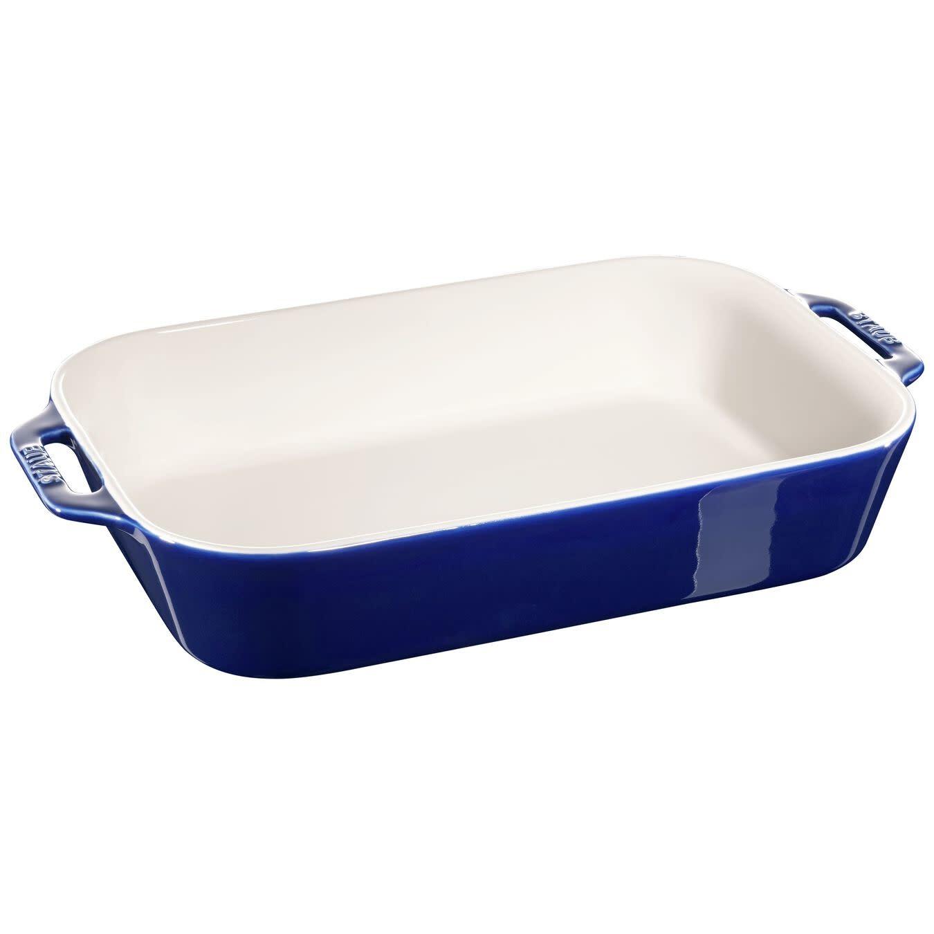 "Staub Rect Baking Dish 13""x9"" Blue"