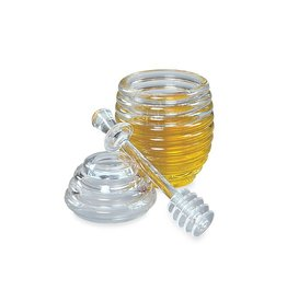 Honey Jar & Dipper Set, Acrylic