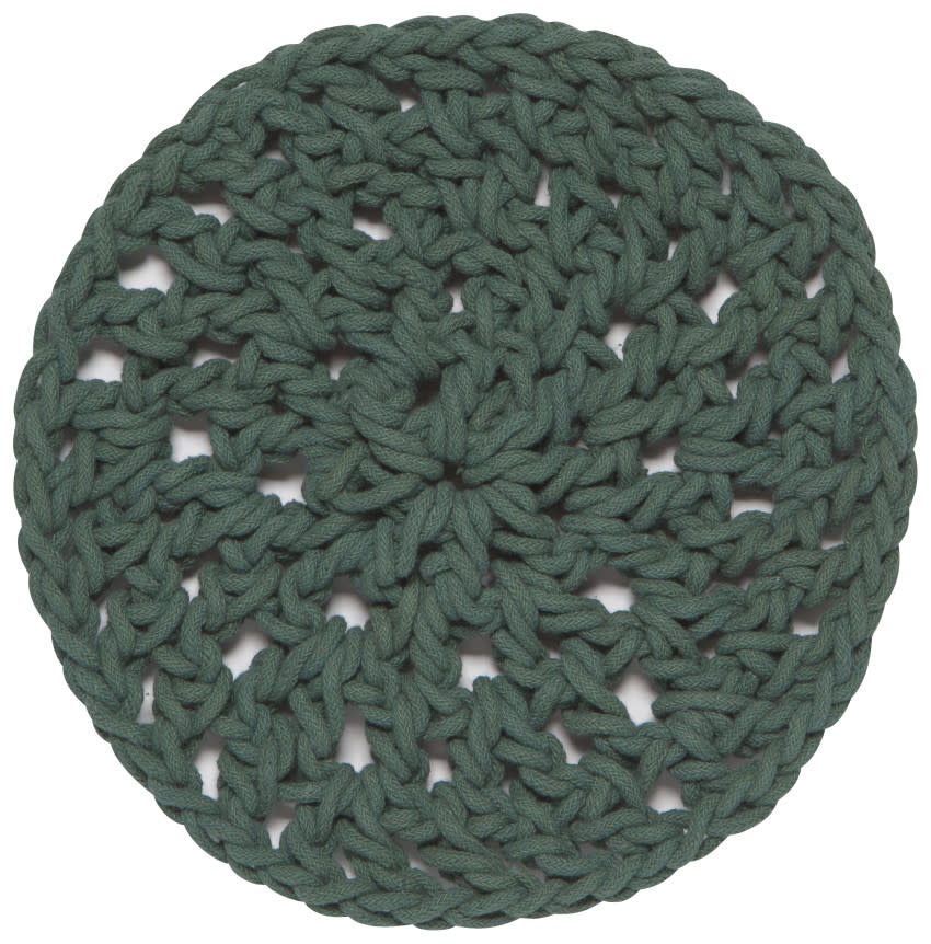 "Trivet 23cm / 9""-Knot Heirloom - Jade"