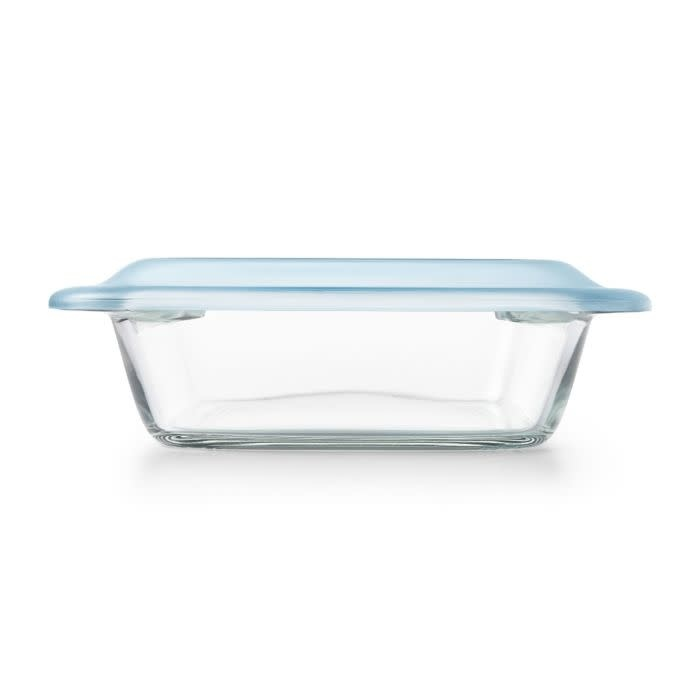 "OXO GG Sq Baking Dish - Glass w/Lid  2qt 8"""