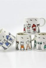 Paws Cafe  Cat Mug - Assrt'd 360ml / 12oz