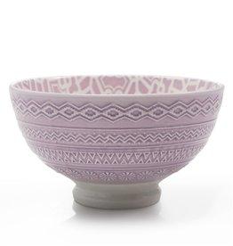 """Danesco Quilt Bowl 4.75""""/11oz - Lavender"""