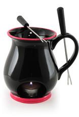 Indulge Chocolate Fondue Mug - Black 120ml