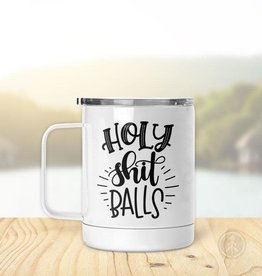 Pinetree Innovations Insulated Mug - Holy Shit Balls