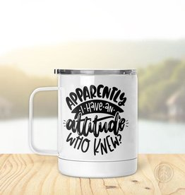 Pinetree Innovations Insulated Mug - Apparently I Have an Attitude