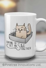 Pinetree Innovations Coffee Mug - Trying To Get My Shit Together 15oz