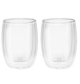 Zwilling J.A. Henckels Sorrento Cappuccino Glasses S/2 200ml /6.7oz