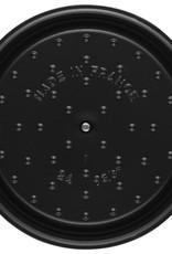 Staub 5.2L / 5.5qt Cast Iron Round Cocotte - Bordeaux