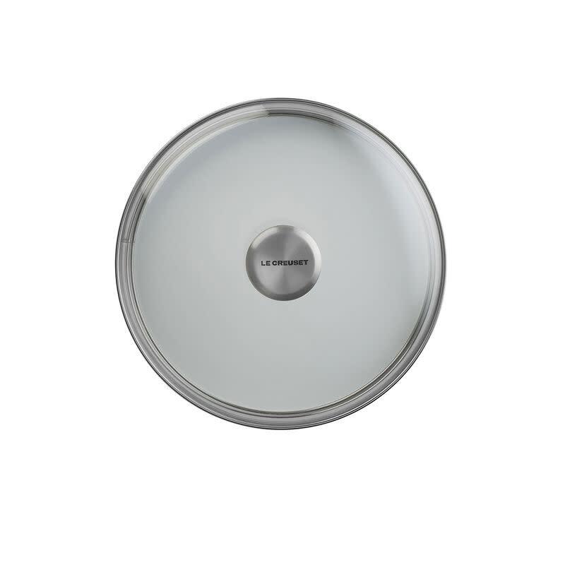 """Le Creuset Glass Lid w/ S.S. Knob - 20cm / 8"""""""