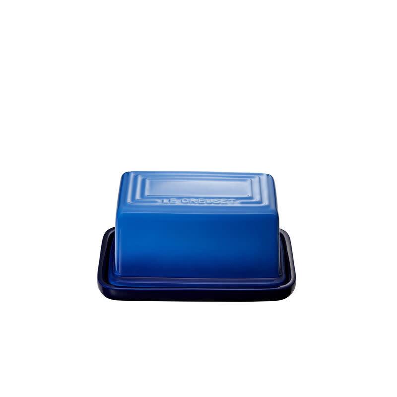 Le Creuset Butter Dish 454gm / 1lb - Azure Blue Blueberry