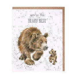 Wrendale Designs Beary Best - Card