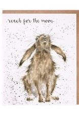 Wrendale Designs Reach For The Moon - Card