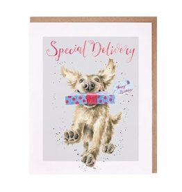 Wrendale Designs Special Delivery - Card