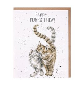 Wrendale Designs Feline Good - Happy Purrr-thday - Card