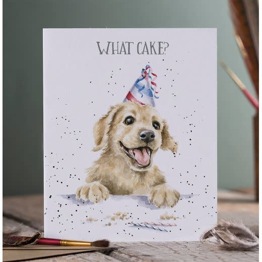 Wrendale Designs What Cake? - Card