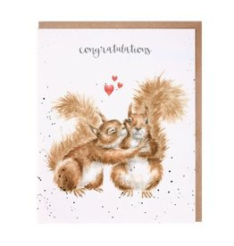 Wrendale Designs Nuts About Each Other- Card