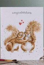 Wrendale Designs Nuts About Each Other -Card