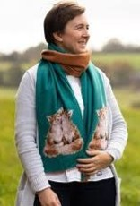 Wrendale Designs 'Contentment' Winter Scarf