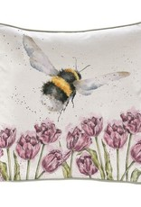 Wrendale Designs 'Flight of the Bumblebee' Decorative Cushion