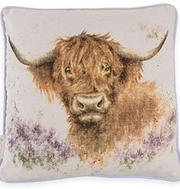 Wrendale Designs 'Highland Heathers' Decorative Cushion