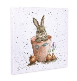 Wrendale Designs 'The Flower Pot' Canvas