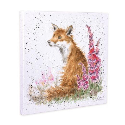 Wrendale Designs 'Foxgloves' Canvas