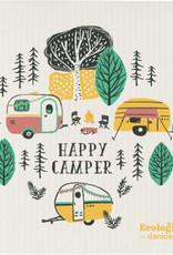 Happy Camper - Swedish Dishcloth