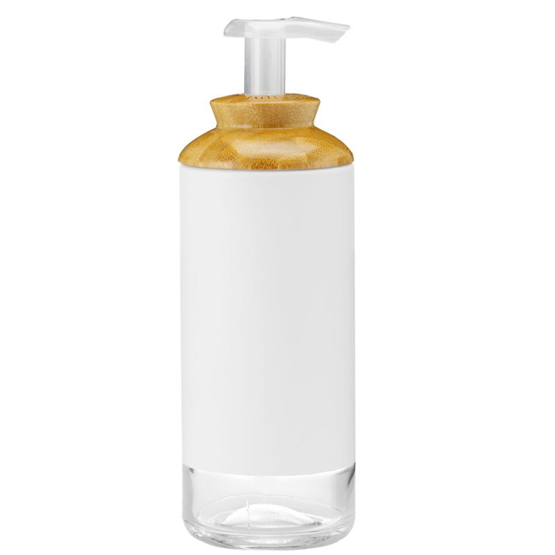 Glass Hand Soap/ Lotion Pump 12oz / 355ml - White
