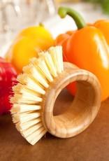"""FC Vegetable Brush """"The Ring"""" 2.75""""D"""