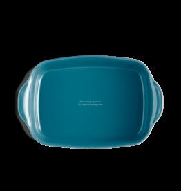 "Emile Henry Calanque Rectangular Baking Dish - 14x10""/35x25.5cm 2.7L"