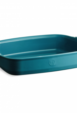 "Emile Henry Calanque Rectangular  Baking Dish - 17x11"" / 42.5x28cm 6L"
