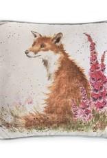 """Wrendale Designs 'Foxgloves' 16"""" Cushion"""