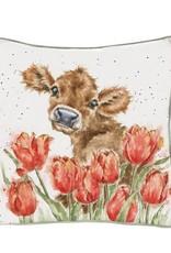 Wrendale Designs 'Bessie' Cow Cushion