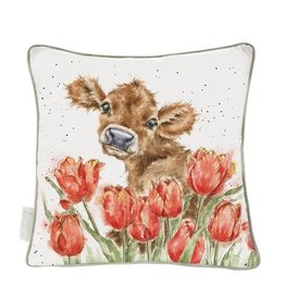 Wrendale Designs 'Bessie' Cow Cushion
