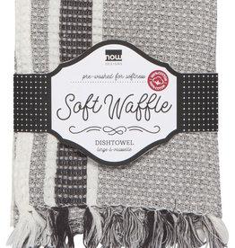 Now Designs Soft Waffle Heirloom Tea Towel - Shadow