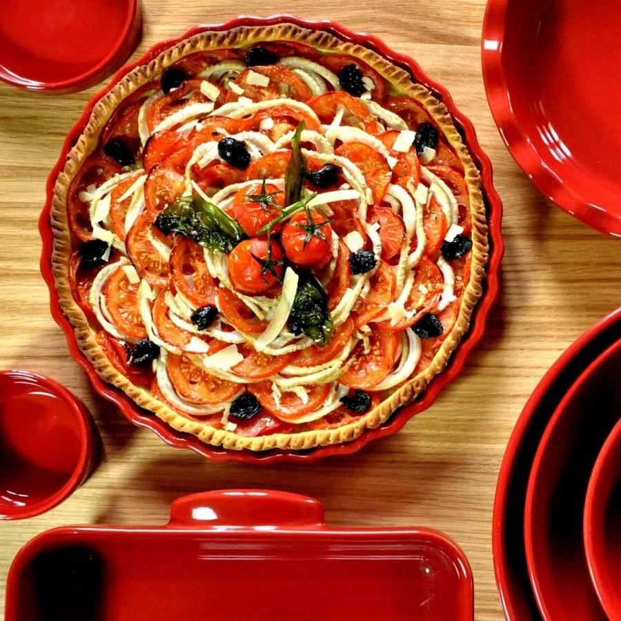 Emile Henry GRAND CRU - Deep Tart Dish