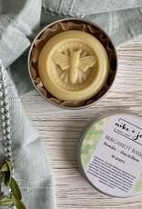 M&J Craft Soap Bergamot Basil Lotion Bar