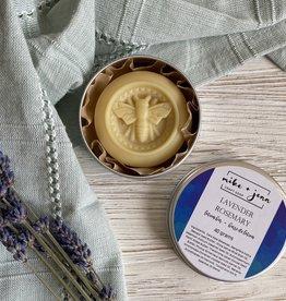 M&J Craft Soap Lavender Rosemary Lotion Bar