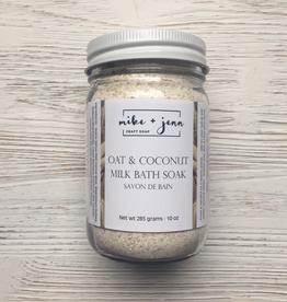 M&J Craft Soap Oat & Coconut Milk Bath Soak