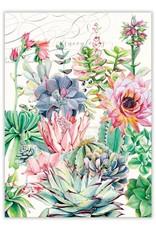 Pink Cactus Kitchen Towel
