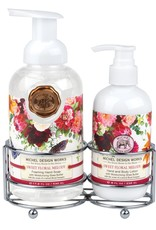 Sweet Floral Melody Handcare Caddy Set