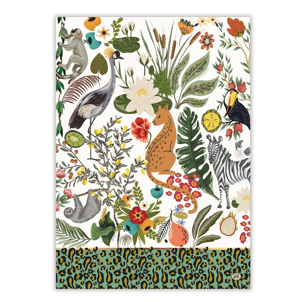 Wild Lemon Kitchen Towel