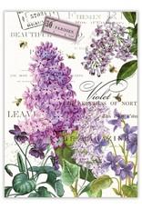 Lilac & Violets Kitchen Towel