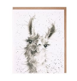 Wrendale Designs 'Because I'm Worth It' - Blank Card
