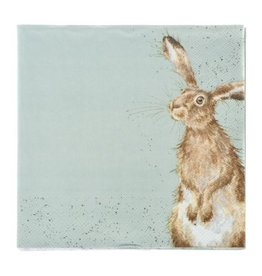 Wrendale Designs 'The Hare & The Bee' Luncheon Napkins