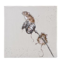 Wrendale Designs 'Country Mice' Luncheon Napkins